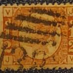 G.B. #58 Fine Used 1/2d plate 9 QV Bantam