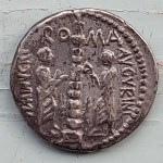 Roman Republic C. Minucius Augurinus 135 BC Silver Denarius