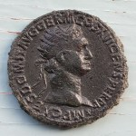 Domitian, as Augustus 81-96 AD 13gm AE Dupondius