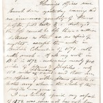 Ottawa 17 Jan 1874 4-page Marcus Smith letter to his wife, Sandford Fleming offices burnt down