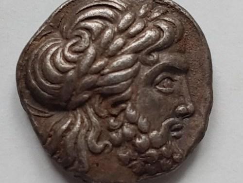 FORGERY WITHDRAWN Philip II 359-336 BC Macedonia 14gm Silver Tetradrachm w/ Zeus etc