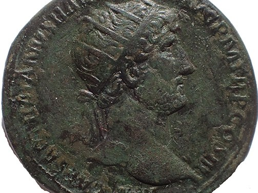 Hadrian 117-138 AD 28mm 13.7gm AE Dupondius w/ Virtus etc