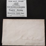 U.S. Camp 1869 Alex Mckenzie San Juan Island Ball Invitation and Cover