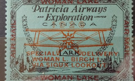 Patricia Airways #CL18 F/VF Never Hinged 1926 50c S.O.A.
