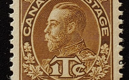 Canada #MR4 XF Never Hinged 1916 War Tax Beauty