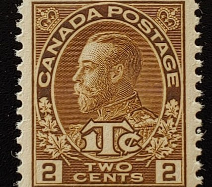 Canada #MR4 XF Never Hinged 1916 War Tax Beauty