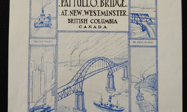 New Westminster, B.C. 15 Nov 1937 Bridge Opening Cover ex Wellburn