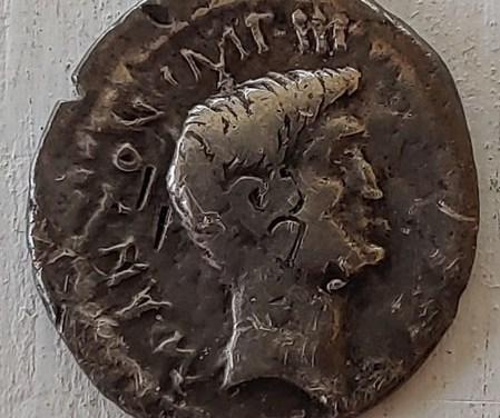 Mark Antony and Octavian 40-39 BC 3gm Silver Denarius