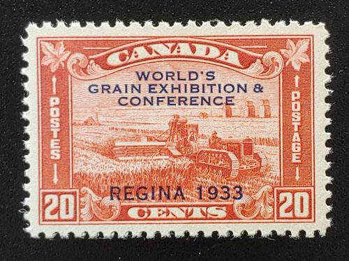 Canada #203 VFNH 1933 30c Grain Exhibition Regina