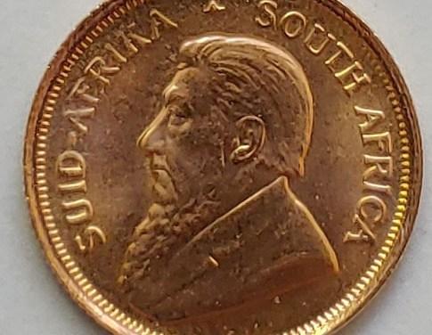 South Africa BU 1981 1/10oz fine Gold Krugerrand