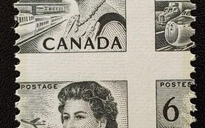 Canada #460 Never Hinged 6c Centennial Misperf ex Penko