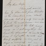 Fort Ellice 16 July 1879 Marcus Smith letter to his wife