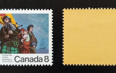 Canada #619i VFNH 1973 8c Yellow Paper Variety ex Penko