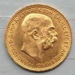 Austria BU 1912 Franz Joseph Gold 10 Corona .0974oz AGW