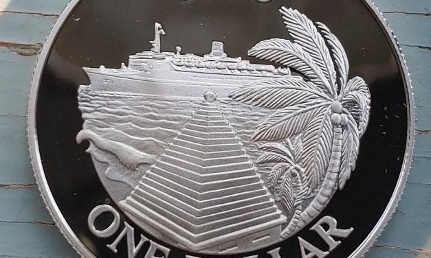 Bermuda Proof 1985 Cruise Ship Silver Dollar .8356oz ASW