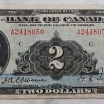 Canada #BC3 Fine 1935 $2 Queen Mary Banknote