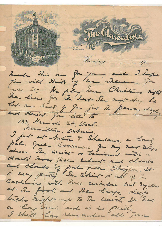 Page 2 of Pauline Johnson letter