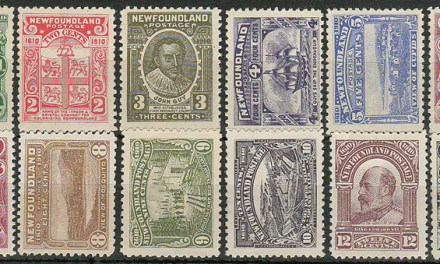 Newfoundland #87-97 F/VF Mint 1910 Guy Set incl NH (12)