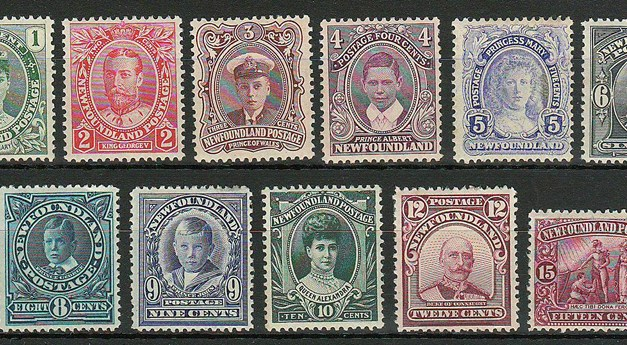 Newfoundland #104-114 Mint 1911 Coronation Set (11)