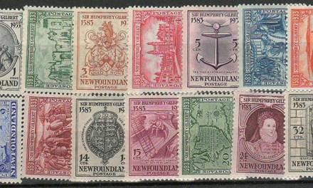 Newfoundland #212-225 1933 Gilbert Set (14)