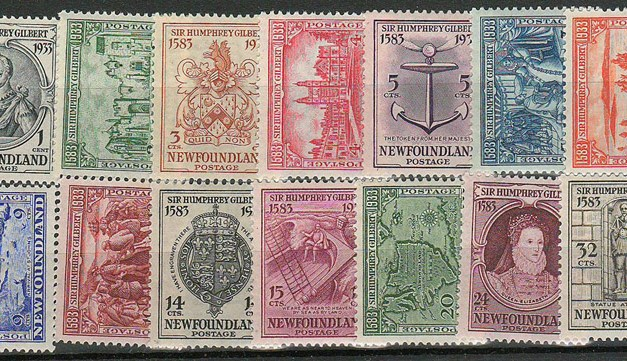 Newfoundland #212-225 1933 Gilbert Set (14)