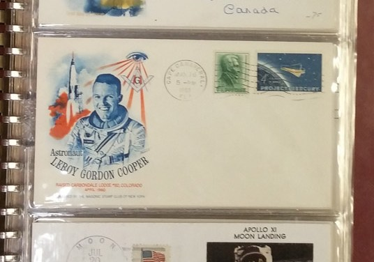 Space 1962/1982 mainly U.S. Covers incl Colorano Silks (130) nb Lots 151 to 154 are Space