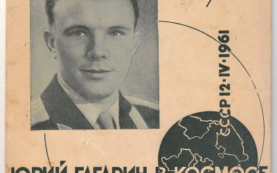 Yuri Gagarin 45rpm Space single