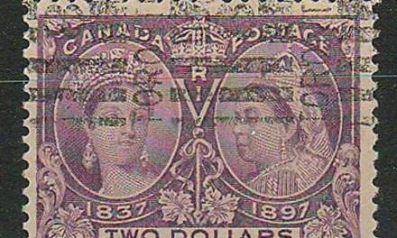 Canada #62 Toronto Roller 1897 $2 Jubilee