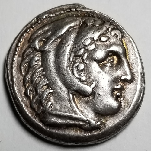 Alexander the Great style 17.3g Silver Tetradrachm struck under Cassander