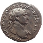 Trajan 98-117 AD 20mm 2.8gm Silver Denarius struck at Rome