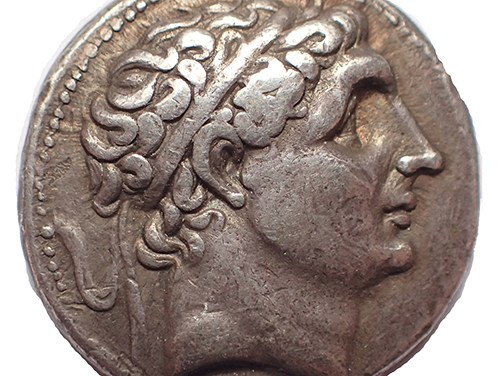 Seleukid Kings, Antiochos I 280-261 BC Tetradrachm.