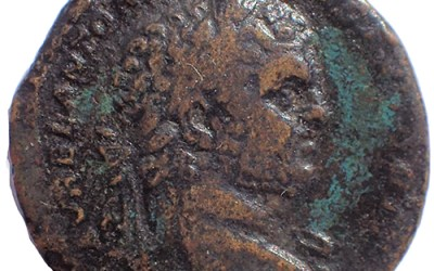 Caracalla 211-217 AD AE Sestertius w/ Mars