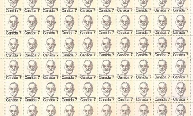 Canada #592var 7c 1-bar tagged Sheet (100)
