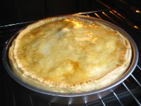 meat pie baking pan