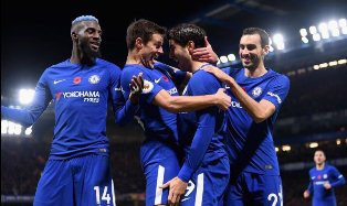 Victor Moses Pays Tribute To Chelsea Teammates For Beating Man Utd
