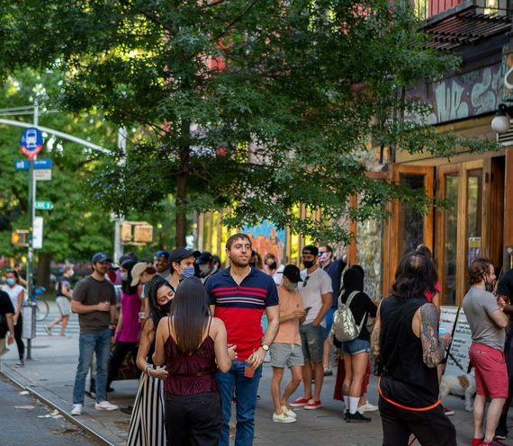 Coronavirus Cases Among 20-Somethings In NYC Rise
