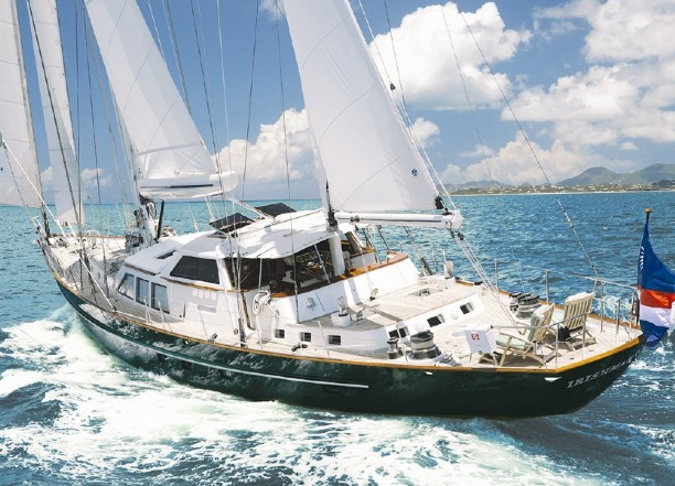 92 Palmer Johnson Sailing Yacht PEGASUS II For Sale All