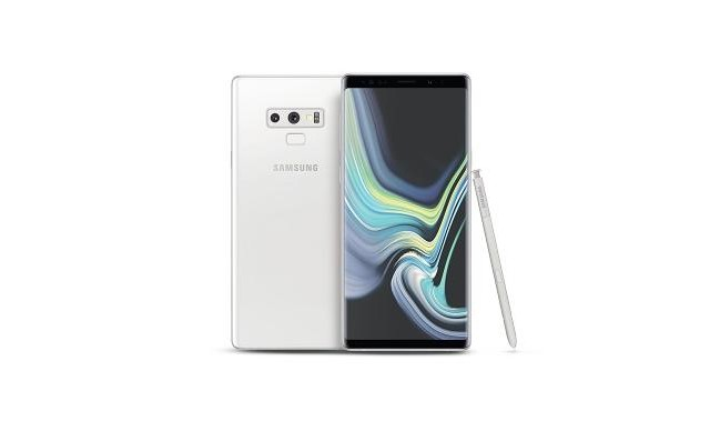 Samsung to launch new color for Galaxy Note 9 early next month : Snow White