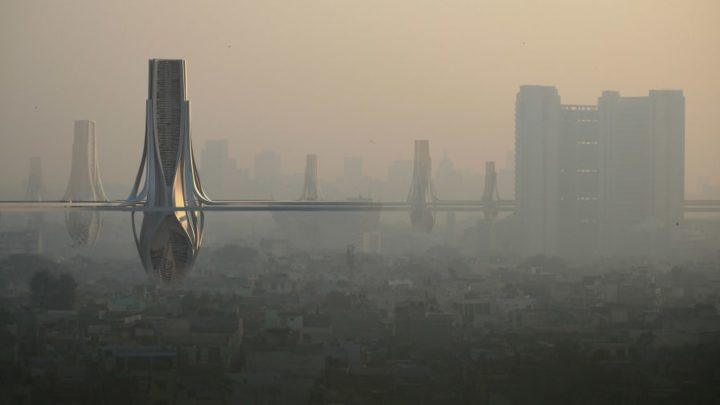 Delhi-NCR could get its own Air Purifier Tower which will provide clean air for 75k people
