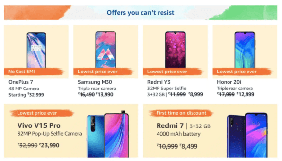 2019 Amazon Freedom Sale is here: offers on Smartphones including iPhone, Galaxy S10, Fire Stick and more