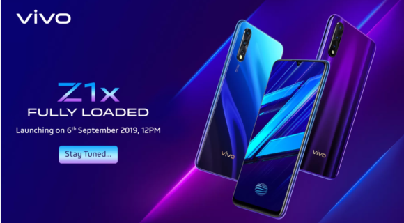 Vivo Z1x with 22.5w Fast charging launches tomorrow; 4500mAh battery, 48MP Triple Camera and more