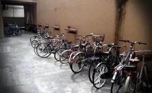 Cortile Bici Alloggio Cavour