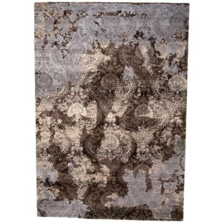 tapis beige pour salon vintage en polyester sonia