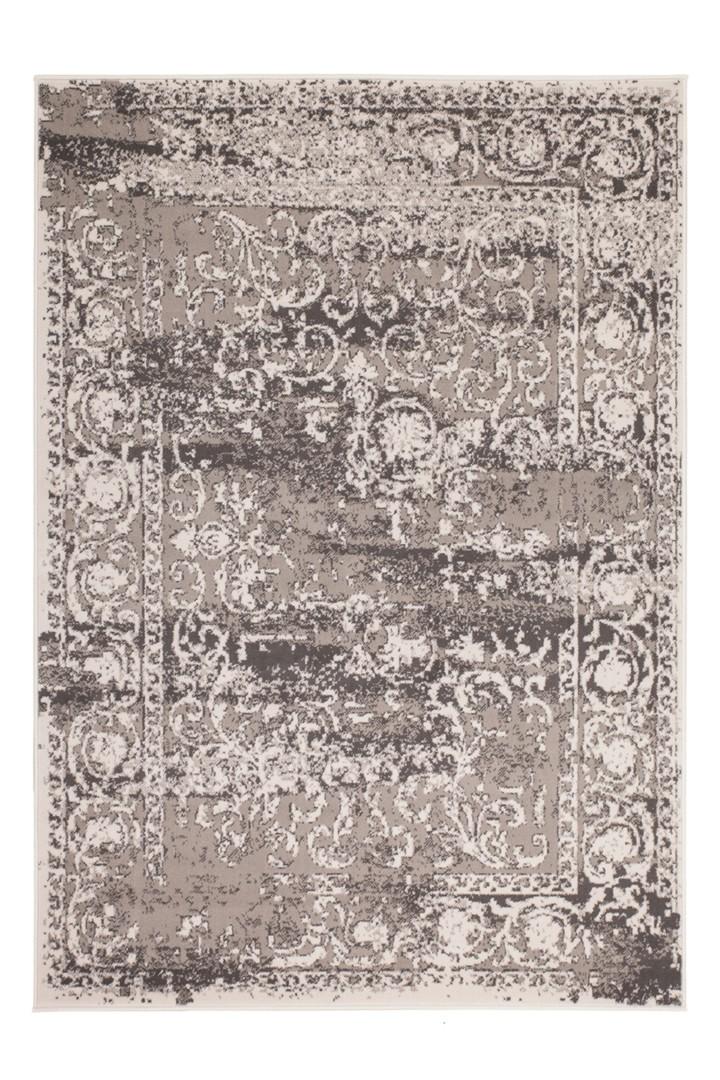 tapis pas cher vintage argente casa