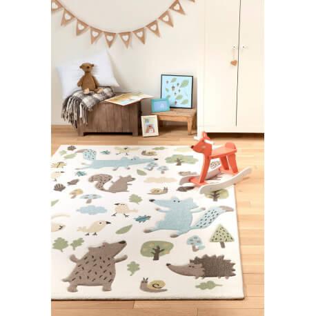 tapis pour chambre enfant sigikid forest