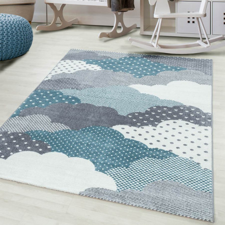 tapis pour chambre d enfant rectangle cloud