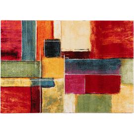 tapis multicolore arc en ciel de