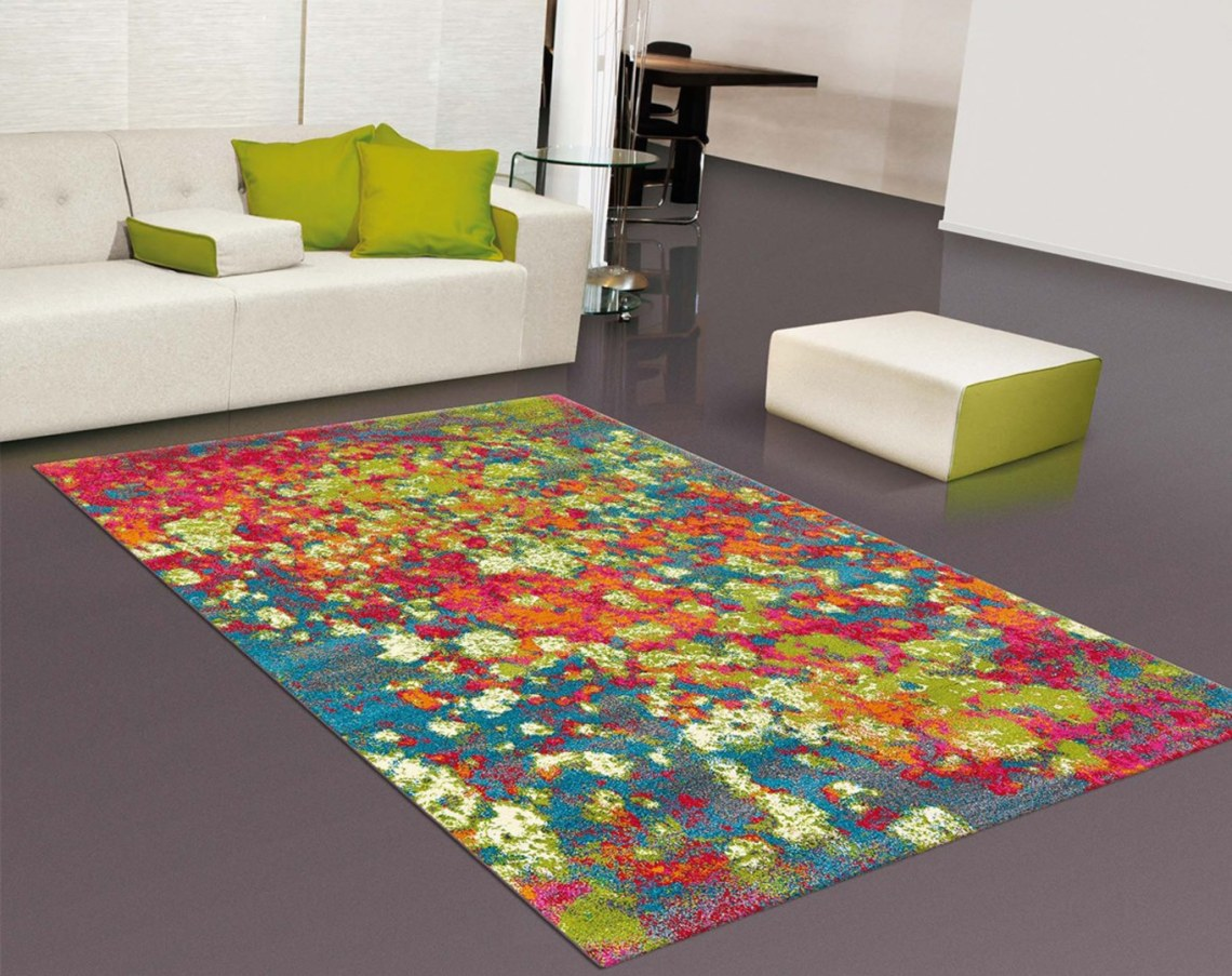 Tapis multicolore moderne rectangle Clash Arte Espina