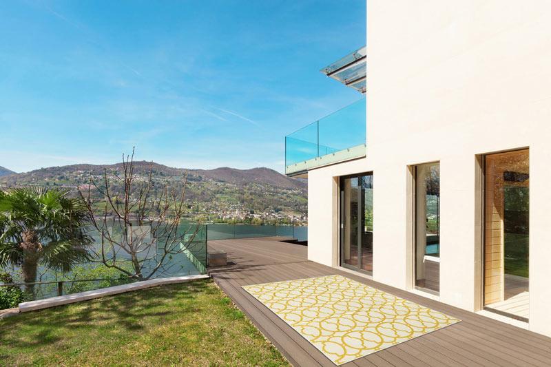 tapis de terrasse design