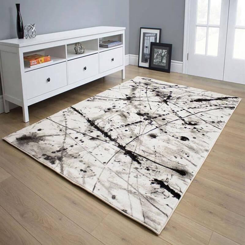 tapis à courtes mèches